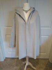 Voter Nom Coat Cape Grey Hooded XL Wool