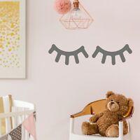 Sleepy Eyes Eyelash Wall Sticker Decal Nursery Kids Bedroom Vinyl Adhesive | G25