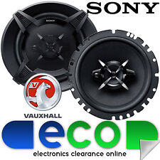 Vauxhall Corsa D Combo 2006-14 SONY 17cm 540 Watts 3 Way Front Door Car Speakers