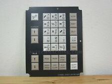 Fanuc Membrane Keysheet Keypad A98L-0001-0518#MR