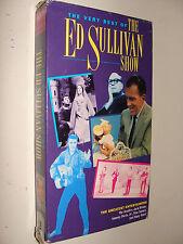 Very Best of Ed Sullivan Show Vol  2 VHS1992 The Beatles Elvis Nat King Cole +