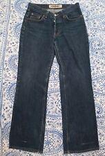 "Crocker Jeans Company Blue Womens Straight Cut Jeans. Waist 30 "" Leg 30 "" Inches"