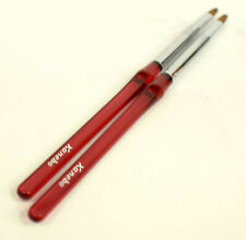 2 x Kanebo  Lip Brushes  Red With Logo   Make Up  Applicator  Cosmetics   NEW