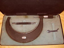 Moore & Wright 125mm - 150mm Micrometer No.1966MZF - As Photo