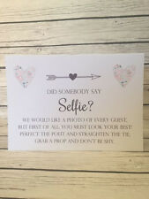Rustic/Vintage/Shabby Chic Take A Selfie/Strike a Pose Sign
