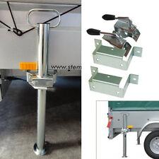 STEMA Abstellstützen incl. Halterung und Klemmhalter PKW Anhänger Stützen 70 cm