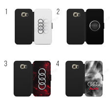 Audi Logo S Line Audi RS Wallet Flip Case Cover For IPhone X & Samsung Galaxy