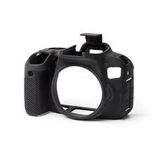 easyCover Pro Silicone Skin Camera Armor Case to fit Canon EOS 800D DSLR Black