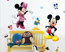 Micky Maus Wandtattoo Wandsticker XXL 115cm x 50cm Mickey mouse Kinderzimmer 3
