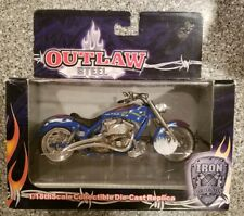 Toy Zone  Iron Legends Motorcycle 1/18 Scale Die Cast  #99210