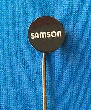 SAMSON valves Brands of the World, valve soupape Ventil, Old vintage pin, badge