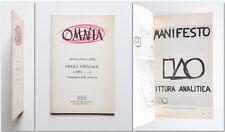Martino Oberto (OM) Opera virtuale (1951-...) L'immagine della scrittura 1992