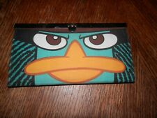 Disney Perry Platypus Wallet, 7.5 x 4 in. Pre Owned