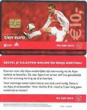 Arenakaart A118-01 10 euro: De Jong