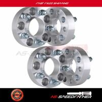"4Pcs 1.5"" 5x4.5 to 5x4.5 Hubcentric Wheel Spacers 1964-2014 Ford Mustang"