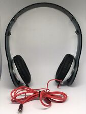 STEREO HEADPHONES DJ STYLE FOLDABLE HEADSET EARPHONE OVER EAR MP3/4 3.5MM BLACK