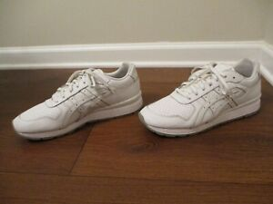 Used Worn Size 11.5 Asics GT II Shoes White & Gray