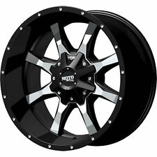 *CUSTOM* Moto Metal 20x10 Black MO970 8x180 Rims 33x12.50R20 Patriot Torque MT