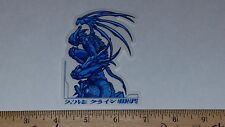 VTG HOOK UPS SKATEBOARD STICKER NOS JAPANESE ANIME STEAMPUNK GARGOYLE ASSASSIN !