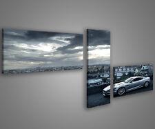 Quadri moderni aston martin autosalone 180 x 70 stampe su tela canvas MIX-S_80