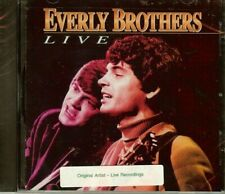 """THE EVERLY BROTHERS """"LIVE"""" - CD - NEW"""
