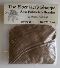 Saw Palmetto Berries Powder 1 oz. - The Elder Herb Shoppe