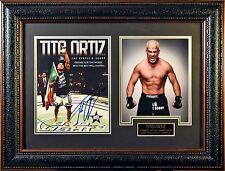 Tito Ortiz Signed/Framed 2 Photo Collage w/JSA