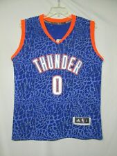 NBA Oklahoma City Thunder Russell Westbrook Adidas Alternate Jersey Size Small