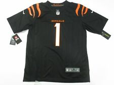 Ja'Marr Chase #1 Cincinnati Bengals Men's Game Limited Jersey Black