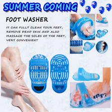 Foot Cleaner Scrub Bath Brush Exfoliating Feet Scrubber Washer Spa Shower SP