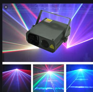 HIGH POWER BRIGHT 350mw Disco Full Colour Laser lighting system  nightclub home