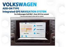 Volkswagen Golf Mk7 GPS Navigation retrofit latest GPS Map add on Kit