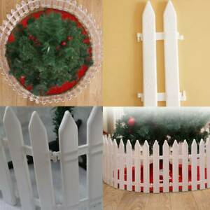 25x White Border Plastic Fencing Wooden Effect Lawn Garden Edging Patio
