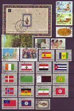 Gestempelte Briefmarken aus Posten und Lots von weltweiten