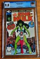 Savage SHE-HULK #1 Origin & 1st Appearance of She-Hulk  CGC 9.8  WHITE Pages