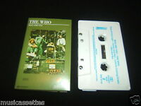 THE WHO WHO ARE YOU 2ND PRESS AUSTRALIAN CASSETTE TAPE