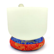 * Chinese New Year Feng Shui * White Glass Singing Bowl
