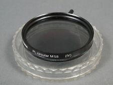 hama M58mm PL circular(VI) Polfilter, s. g. Zustd+ Dose