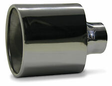 VT COMMODORE SAAS STAINLESS STEEL EXHAUST STRAIGHT TIP VT V8 V6 HSV 63 MM INLET