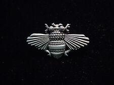 """JJ"" Jonette Jewelry Silver Pewter 'Full-Winged Bee' Tac Pin"