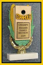 Personalized Cornhole Corn Hole Trophy Award