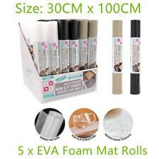 5 Rolls Thin EVA Foam Mats Non Slip Waterproof Liner Drawer Placemat Kitchen