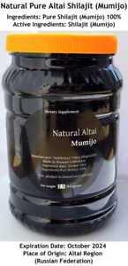 BULK WHOLESALE Altai SHILAJIT 5.5 Lb (2.5 kilograms) Pure Mumijo, Moomiyo,Mumio