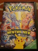 Pokemon the First Movie: Mewtwo vs. Mew (DVD, 2000)