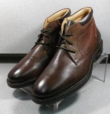 208926 PFBT40 Mens Boots Size 11.5 M Brown Leather 1850 Series Johnston & Murphy
