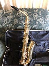 Vintage 1970 Conn Alto Shooting Stars Saxophone With Case