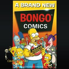 A BRAND NEW BONGO COMICS Preview Book 2011 SIMPSONS Futurama Promotional NM!