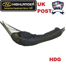 HIGHLANDER HAMMOCK GEAR STORE.STRETCHER BUSHCRAFT ARMY BASHA BIVI + STUFF SACK