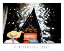 Christoper Joyce Gondola Venedig Gondoliere Poster Kunstdruck Bild 48x61cm
