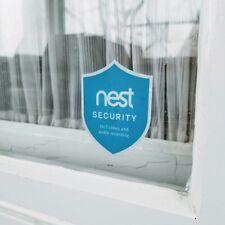 Nest Security Indoor Window Decal Sticker